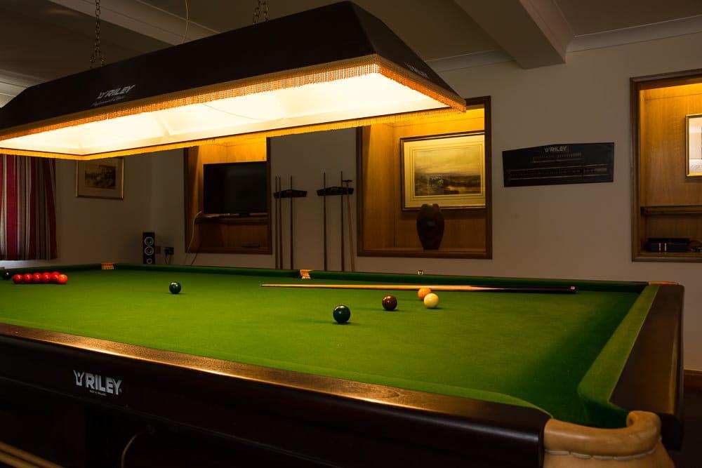 Snooker table, Bantham