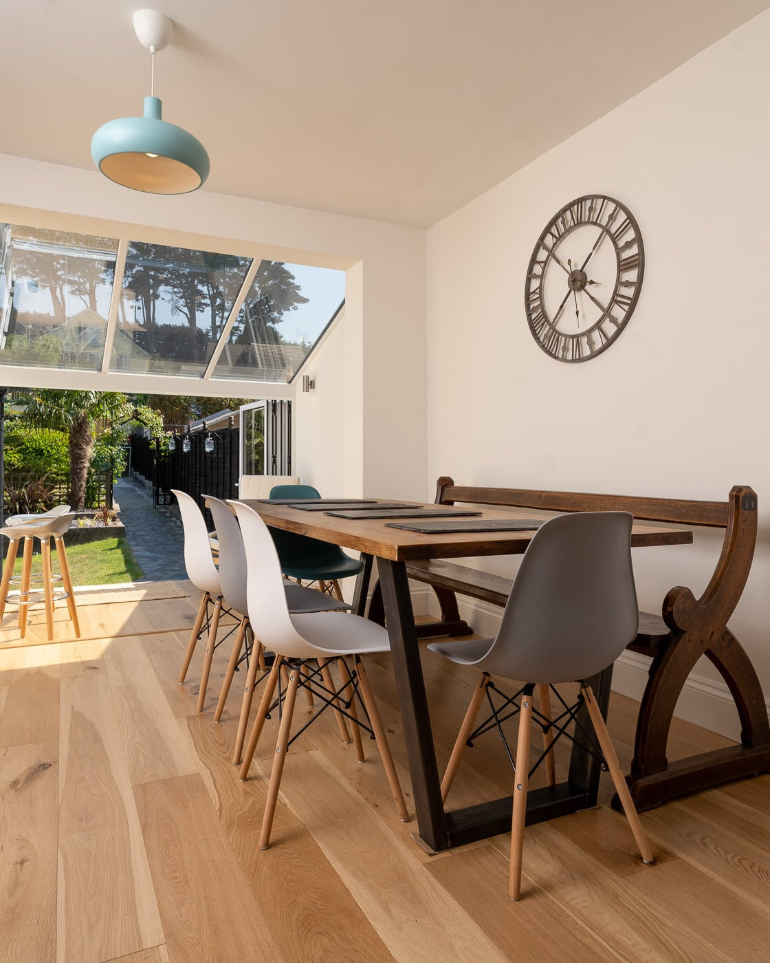 Devon Property Photography. Open Plan Kitchen Diner