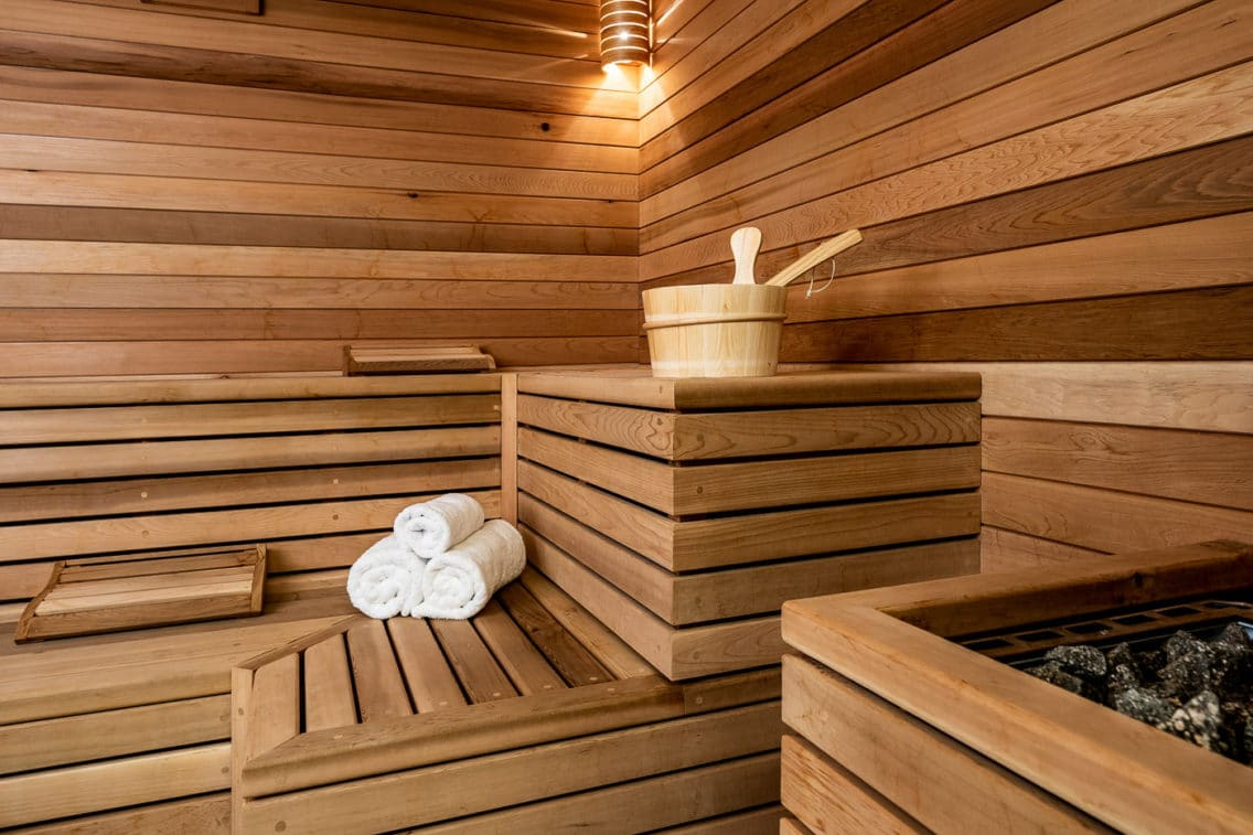 Photography of a Sauna